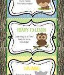 Classroom theme-woodlands