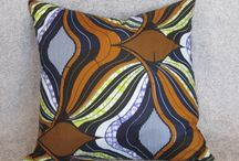 African wax print cushions / African double wax printed cushion covers, in a range of vibrant and bright colours.