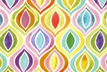 fabrics! / by Danny-Josie Wall