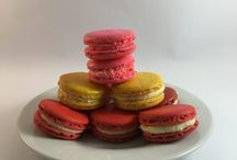 Macarons / Delicious little French Macarons. They are renowned for being difficult to make, but they worth all the effort. With The Gingerbread House offering more than 40 flavours, its hard to say no!