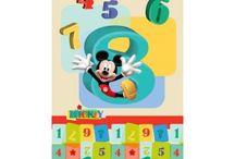 Mickey egeres gyerekszoba