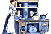 Victorian Kitchens and Cooking / Could you have cooked in one of these, every day of your life?