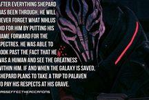 Mass Effect Headcanon