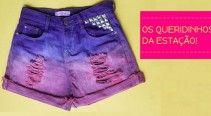 Shortinhos / Inspirações de shorts para o verão