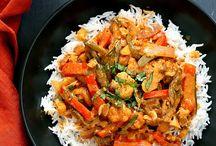 Vegan Indian/curries/spicy food