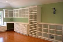 Craft Room Ideas / Ideas for my craft room and storage. Where the Magic Happens (Craft Rooms)