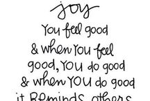 "Joy :) / My ""One Word"" for 2014"
