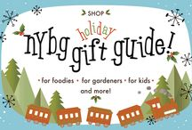 2015 Holiday Gift Guide / We've rounded up our favorite gifts for everyone on your list!  Members receive 10% off all purchases and all purchases support NYBG!