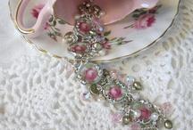 Bone china jewelry