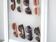 Sun glasses storage