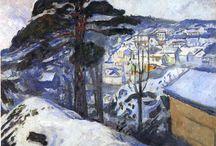 Pintura Edward Munch