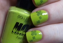 st pattys day nails / by Wendy Mirabella