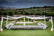 Luxury wedding in estate