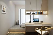 Bedroom with study