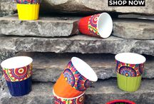 Kullads (Tea Cups) / Kullads (Indian Tea Cups) exclusively designed by The Elephant Company