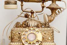 Telephones / Oude telefoons