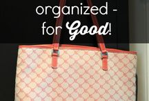 organize bags and purse