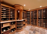 Beautiful Custom Wine Cellars / Wine cellars from traditional, old world designs to contemporary
