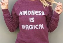 Salt + Pepper Instagram Kindness is Magical... and so are FRIDAYS#bekind #magical #friday #weekends #cozy #sweatshirt