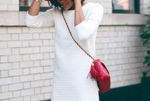 Red with White outfits