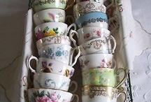Tea and Cake / pop up tea vintage cafe ideas