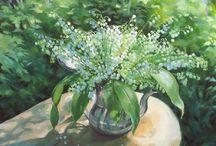 Ландыши в живописи (Lily of the Valley)