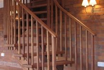 Stairs / Some examples of the stair work that we have produced. All stairs have been crafted in our workshop in Devon by our skilled joiners to the specifications of designers, architects and client.