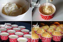 kekler ve kurabiyeler