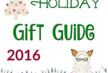 HOLIDAY GIFT GUIDES 2016 / Holiday Gift Guide 2016 from Mama Fox