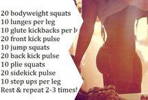 Work out goals