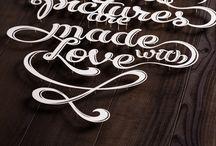 типографика и каллиграфия