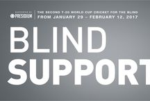 PROUD TO BE ASSOCIATED WITH THE T-20 WORLD CUP FOR THE BLIND 2017