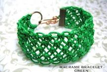pulseras macramé