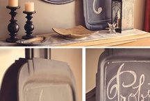 Crafts - Chalkboard Style / by Cathy Dods Wood
