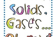 Solid, Liquid, Gas / by Tonya Richards