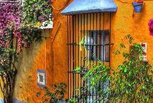 Bellas casas de color!