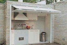 Κουζίνες σε εξωτερικό χώρο