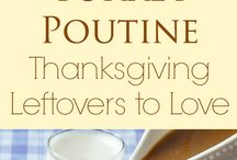 Thanksgiving Leftovers / Turn your leftovers into another epic dish. The Thanksgiving meal that keeps on giving!