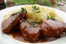 JÍDLO - hovězí maso  /  beef
