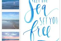 44. SEA - BEACH - LIGHTHOUSES / Lighthouses, rough seas, tranquille seas, beach quotes, beach walks.....
