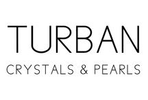 Turban / Crystals & Pearls / DONIA ALLEGUE - Parisian House of Turbans Millinery Made in France http://www.doniaallegue.com
