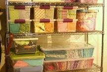 Sewing storage ideas