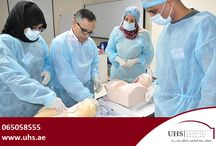 "Workshop at Sharjah Surgical Institute on May 2nd 2015 / Ahmed A Shorrab; MBBch, MSc, MD (Anaesth), Eur Dipl (Nutr-Metab), Senior Consultant, Chief Anaesthetist, University Hospital Sharjah and Professor of Anaesthesia and Intensive Care, University of Sharjah lead a workshop titled ""Ultrasound guided Central Venous Catheterization"" for various doctors from Ministry of Health (MOH). The workshop was conducted in Sharjah Surgical Institute on May 2nd 2015."