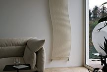 Hola / The Hola radiator operates with water and is made of 14 mm diameter tubular steel elements, first curved to one side then to the other. The sinuous design gives this radiator a strong personality, turning it into a refined furnishing element that can enhance the interior of any room.