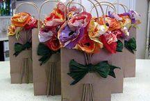 decoração de sacos