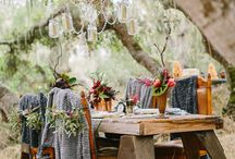 Bohemian Winter Wedding photo shoot
