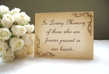 wedding ideas / by Marian Evans calloway