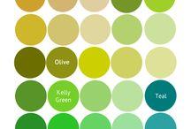 art colour tones