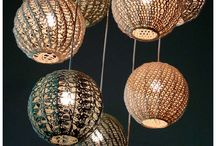 Pendant lights / creative pendant lights all available through Grace Rose Fabrics / by Grace Rose Fabrics