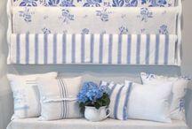 vše do modra / byt,dekorace,kuchyně,doplňky